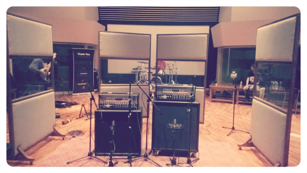 This is NG, taking. Recording in a studio for the first time. (4/5)