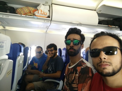 En Route Delhi