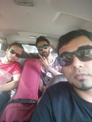 En route Bangalore airport