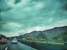 We were hoping for rain to beat the Mumbai heat